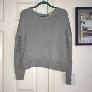 Rue 21 grey colored sweater